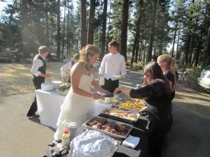 bbq wedding